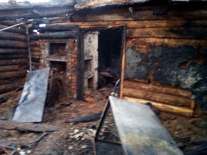 ВБугурусланском районе напожаре умер пенсионер
