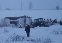 Специалисты называют версии крушения самолета рейса 703 Москва-Орск