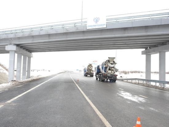 В Оренбурге появились новые лепестки транспортной развязки