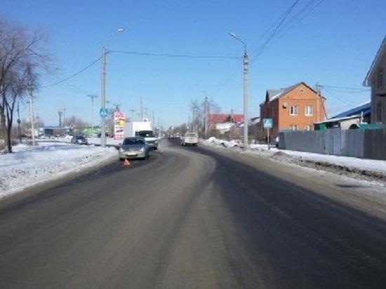 В Оренбурге на Лесозащитной иномарка сбила 14-летнюю школьницу