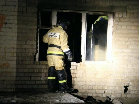 В Орске на пожаре чуть не погибли 7 человек