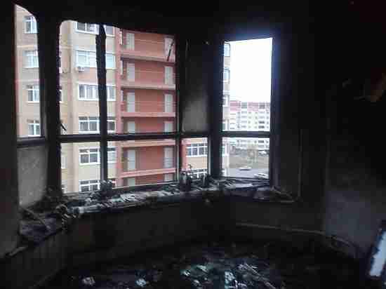 Девочку, пострадавшую при пожаре  на улице Салмышской в Оренбурге, выписали из больницы