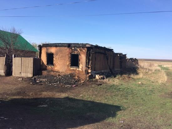 ВОренбуржье напожаре погибли двое детей